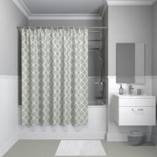 Штора для ванной комнаты, 200*180см, полиэстер, B10P218i11, IDDIS