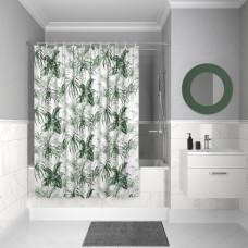 Штора для ванной комнаты, 200*180см, полиэстер, D10P218i11, IDDIS