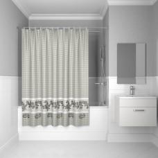 Штора для ванной комнаты, 200*180см, полиэстер, B51P218i11, IDDIS