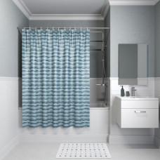Штора для ванной комнаты, 200*180см, полиэстер, B17P218i11, IDDIS