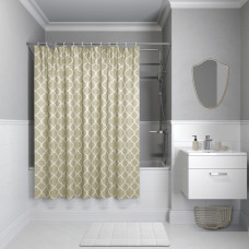 Штора для ванной комнаты, 200*180см, полиэстер, B09P218i11, IDDIS