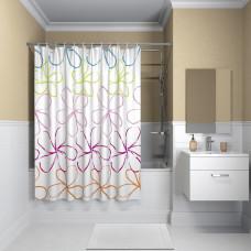 Штора для ванной комнаты, 200*180см, полиэстер, B18P218i11, IDDIS