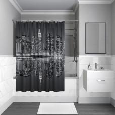 Штора для ванной комнаты, 180*180см, полиэстер, B04P118i11,IDDIS