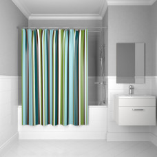 Штора для ванной комнаты, 200*200 см, Raguza Fields, IDDIS, 199P200i11