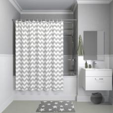 Штора для ванной комнаты, 180*180см, полиэстер, B07P118i11, IDDIS