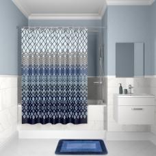 Штора для ванной комнаты, 200*180см, полиэстер, D07P218i11, IDDIS