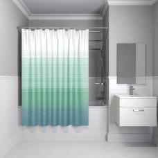 Штора для ванной комнаты, 200*200 см, полиэстер, Blue Horizon, IDDIS, 301P20RI11