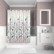 Штора для ванной комнаты, 200*180см, полиэстер, D11P218i11, IDDIS