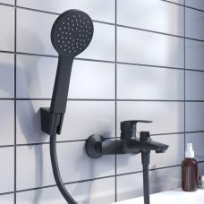 Смеситель для ванны, RAY .RAYBL02i02  Черный