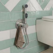 Встраиваемый смеситель с гигиеническим душем, SPRING ,003BNR0i08 Сатин