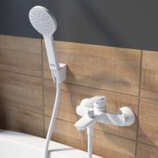 Смеситель для ванны, RAY  .RAYWT02i02  Белый матовый