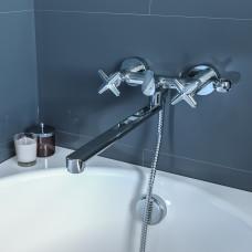 Смеситель для ванны с длинным изливом, Acros, IDDIS, ACRSBL2i10WA