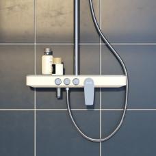 Смеситель для ванны с верхним душем, Shelfy, IDDIS, SHESB3Fi06