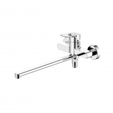 Смеситель для ванны с длинным изливом, Spin, IDDIS, SPISBL2i10WA
