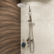 Смеситель для ванны с верхним душем, Male, IDDIS, MALSB3Fi06
