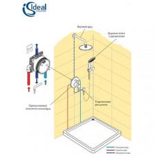 Душевая система скрытого монтажа Ideal Standard CERATHERM 100 6 в 1 BD006XC