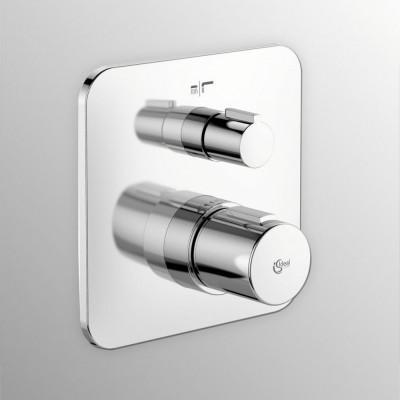 Смеситель для ванны и душа Ideal Standard Tonic II A6345AA, термостатический