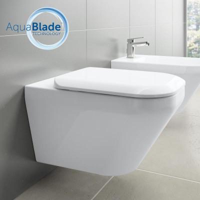 Унитаз подвесной с сиденьем микролифт Ideal Standard Tonic II AquaBlade K316701