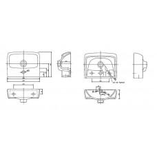 IFO Special RP710113600 Раковина подвесная на 36 см