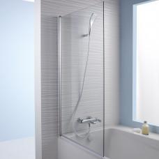 Шторка душевая Jacob Delafon STRUKTURA 140*80 для ванны (хром) E6D042-GA