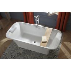 E6D034-00 ванна ELITE отдельностоящая , из мат. Flight, слив-перелив в комплекте /180 x 85/ (белый)