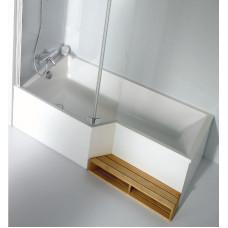 Акриловая ванна Jacob Delafon Bain Douche Neo 160x90 L E6D000L-00(левая)