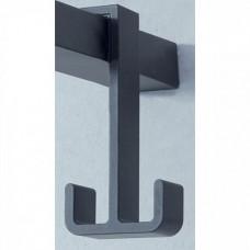 Jacob Delafon E9405-BLV Крючок двойной NOUVELLE для ванной комнаты (черный)