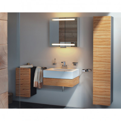 Зеркальный шкаф Keuco Edition 300 30201 171201 алюминий серебристый