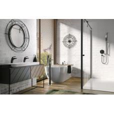 KLUDI BALANCE 525908775 Однорычажный смеситель для ванны и душа, монтаж у отдельно стоящих ванн, для 88 088