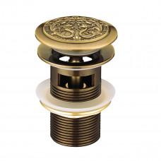 JASMINE Донный клапан клик-клак, бронза LM6680B