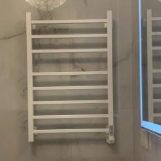 ПОЛОТЕНЦЕСУШИТЕЛЬ электрический НИКА  STEP-2, 80/50,Белый матовый (RAL9016)