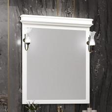 Зеркало со светильниками Борджи 85 см., слоновая кость .(Z0000012529)