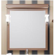 Зеркало со светильниками Борджи 85 см.,светлый орех . (Z0000012701)
