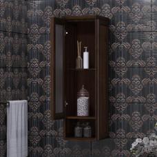 Шкаф подвесной одностворчатый Клио, левый. Орех антикварный, Opadiris, Z0000004979