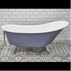 Акриловая ванна Радомир Кондор, отдельностоящая на ножках, 1615*685*765