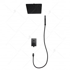Душевая система встраиваемая RGW SP-54 B черная, артикул 21140854-04
