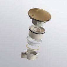 Сифон для душевых поддонов RGW Velplex QYD-01-gold золото 90 мм .    18241101-06
