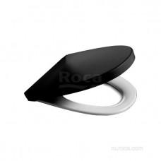 Крышка для чаши Roca Victoria Nord Soft Close Black Edition ZRU9302627 петли хром
