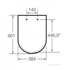 Крышка для чаши Roca Beyond Soft Close 801B8262B supralit