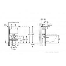 Система инсталляции Roca Duplo 890121010