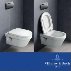 Унитаз подвесной Villeroy&Boch Omnia Architectura (с крышкой SoftClose) 5684H101 (5684 H101)